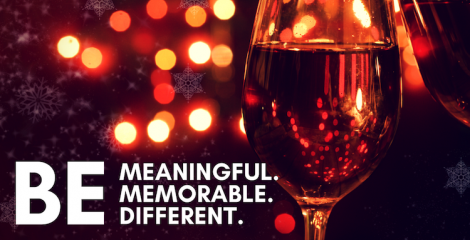 Be memorable to your clients - it's the season for giving.