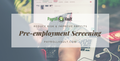 Pre-employment Background Screening