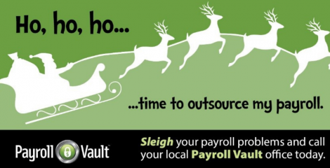 Stop letting your payroll sleigh you. Take the reins today!